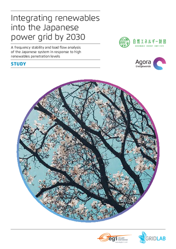 Integrating renewables into the Japanese power grid by 2030